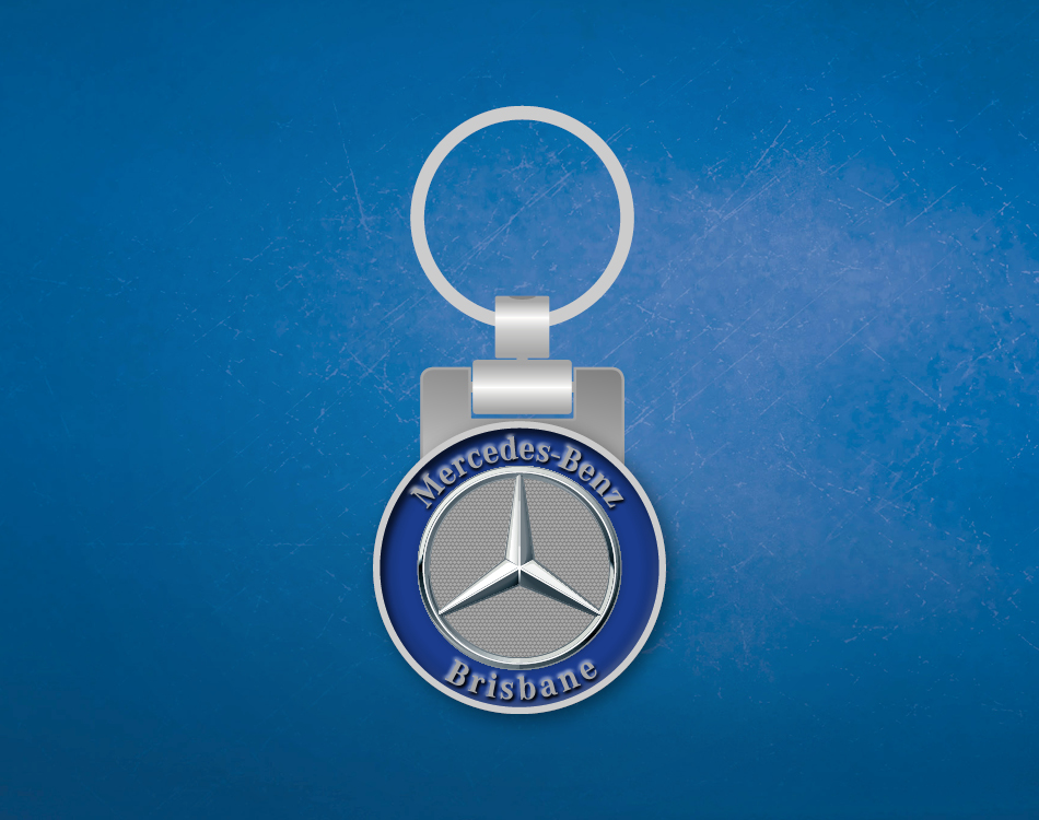 Mercedes Benz Brisbane Personalized Keyring