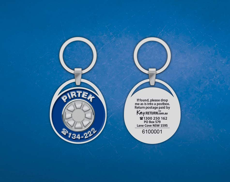 pirtek_front_back_personalised_keyring