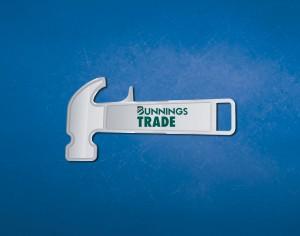 Bunnings Trade engraved keyring