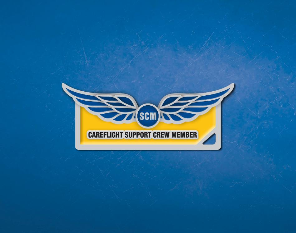 CareFlight branded keyring