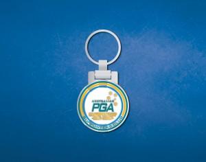 PGA perosanlised keyring