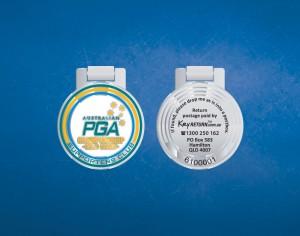 PGA Championship keyring Front & Back