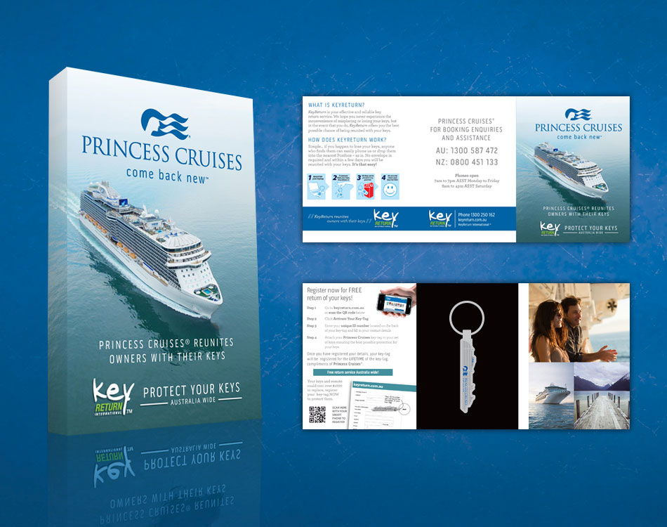 Princess Cruises Packaging